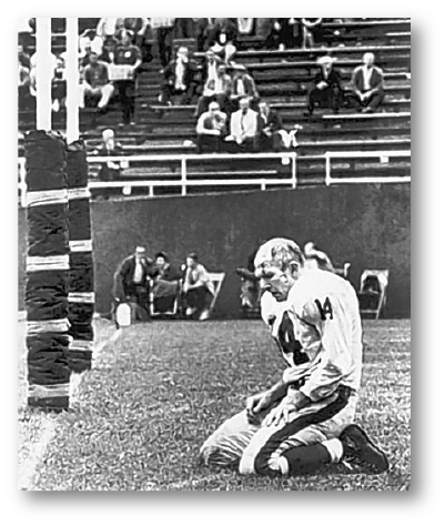 Morris Berman picture of Y. A. Tittle.