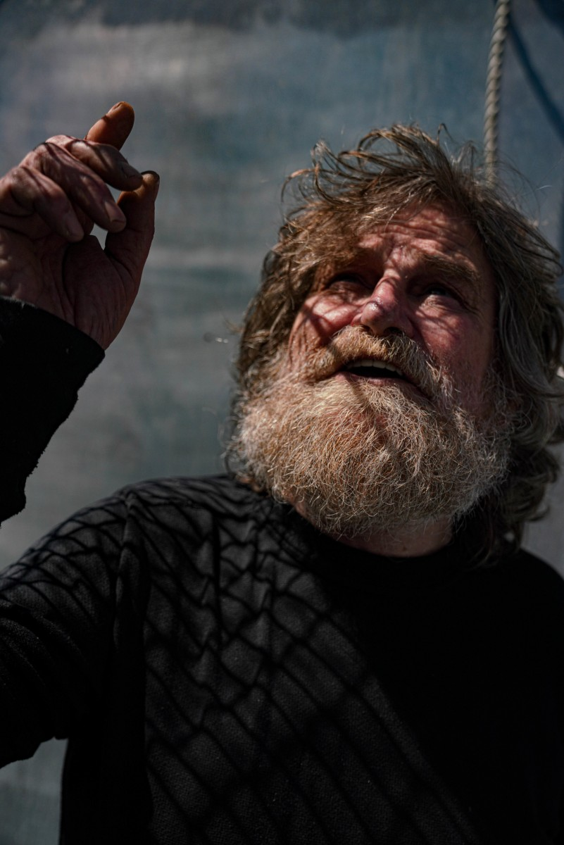 Doug Lyle, a local fisherman poses for a portrait, Friday June, 19, 2020 in Kodiak, Alaska. Lyle's come up to Kodiak for 25 years to fish in the Bering sea and is considered a local to the area. Lyle has worked hard for all that he has using his hands since he was 16. Kodiak is more of a home to him than where he's from in his home state of Washington. Lyle feels like he's someone here, as everyone knows his name.